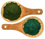 chlorella ans spirulina supplemt powder