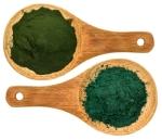 chlorella ans spirulina supplemt powder